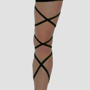 X-Rave Products Accessories - RAVE LEG WRAPS - Dance Party Festival Wear PLUR